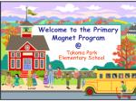 Welcome to the Primary Magnet Program  @