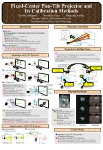 Fixed-Center Pan-Tilt Projector and Its Calibration Methods