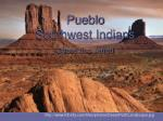 Pueblo Southwest Indians Chase and Jarrett