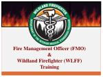 Fire Management Officer (FMO) & Wildland Firefighter (WLFF) Training
