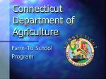 Connecticut Department of Agriculture