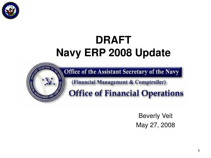draft navy erp 2008 update n.