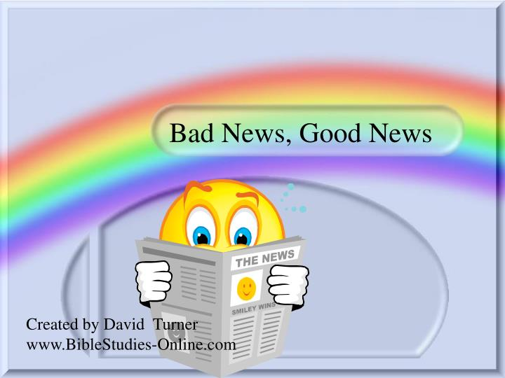 bad news good news n.