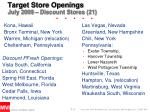 Target Store Openings July 2009 – Discount Stores (21)