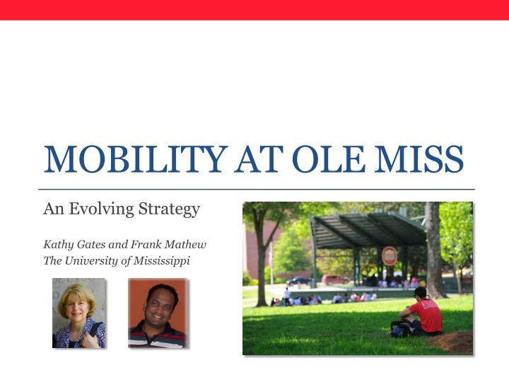 mobility at ole miss n.