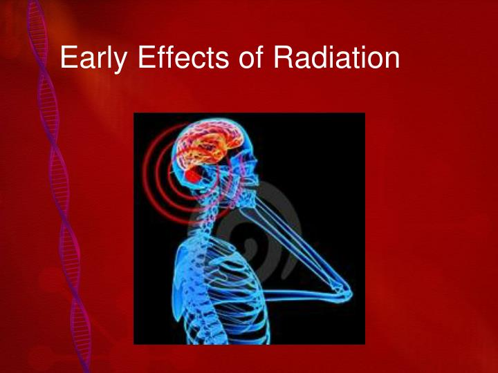 early effects of radiation n.