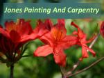 Ohio Painting Services:Jones Painting And Carpentry