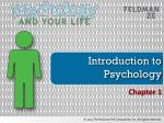 Introduction to Psychology
