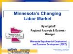 Minnesota's Changing Labor Market