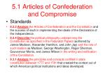 5.1 Articles of Confederation and Compromise