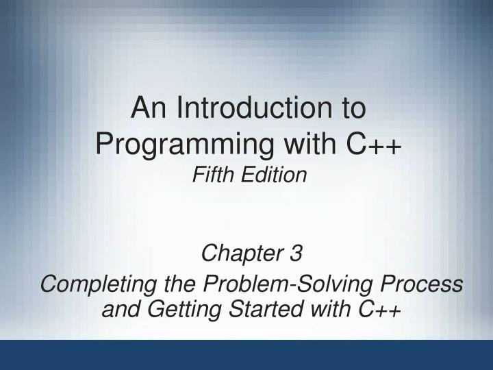 an introduction to programming with c fifth edition n.