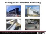 Cooling Tower Vibration Monitoring