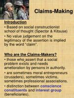 Claims-Making