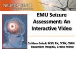 EMU Seizure Assessment: An Interactive Video