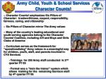 Army Child, Youth & School Services Character Counts!