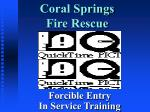 Coral Springs Fire Rescue