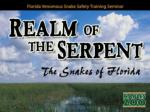 Florida Venomous Snake Safety Training Seminar