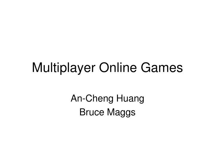 multiplayer online games n.