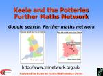 Keele and the Potteries Further Maths Network