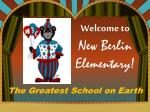 Welcome to New Berlin Elementary!