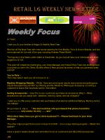 Retail LG Weekly Newsletter