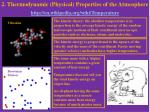 2. Thermodynamic (Physical) Properties of the Atmosphere