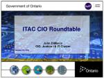 ITAC CIO Roundtable