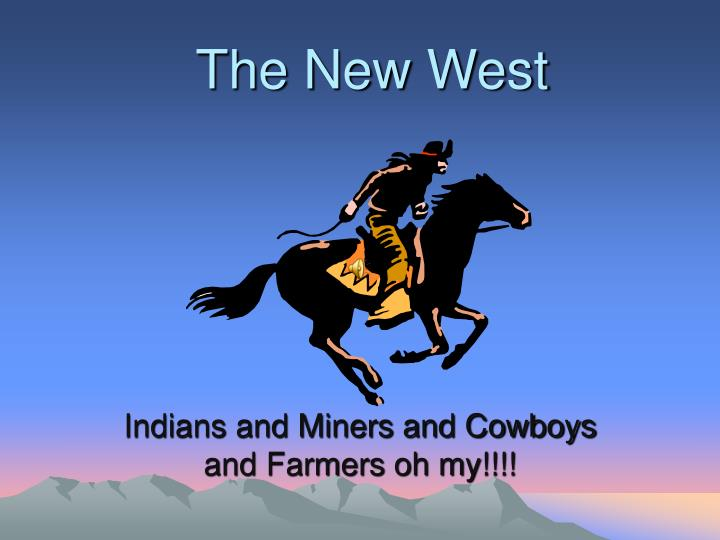 the new west n.