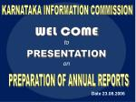 KARNATAKA INFORMATION COMMISSION