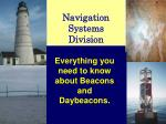 Navigation Systems Division