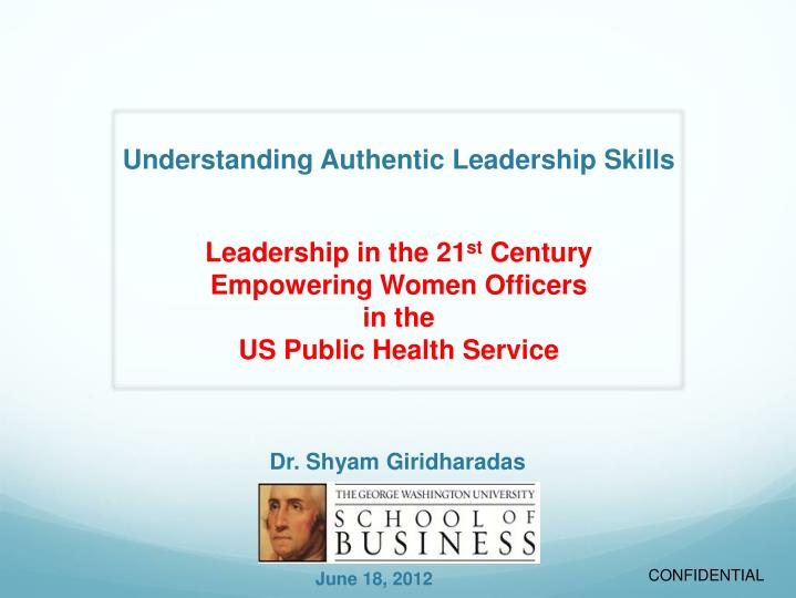 understanding authentic leadership skills n.