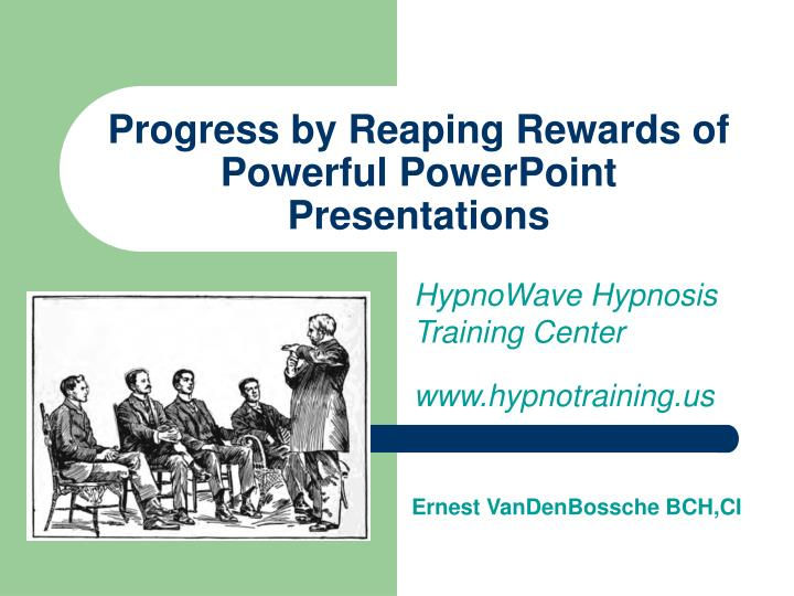 progress by reaping rewards of powerful powerpoint presentations n.
