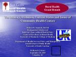 Rural Health Grand Rounds