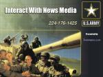 Interact With News Media