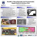 RiceNIC: A Reconfigurable and Programmable Gigabit Network Interface Card