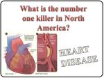 What is the number  one killer in North America?