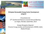 Presentation for 37 th Geothermal Resource Council Annual Meeting.
