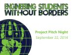 Project Pitch Night