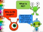What is RE?