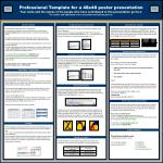 Professional Template for a 48x48 poster presentation