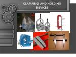 CLAMPING AND HOLDING DEVICES