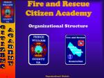 Fire and Rescue Citizen Academy