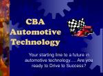 CBA Automotive Technology