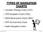 TYPES OF NAVIGATION CHARTS