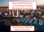 Ron Donelson, MD, MS SelfCare First, LLC