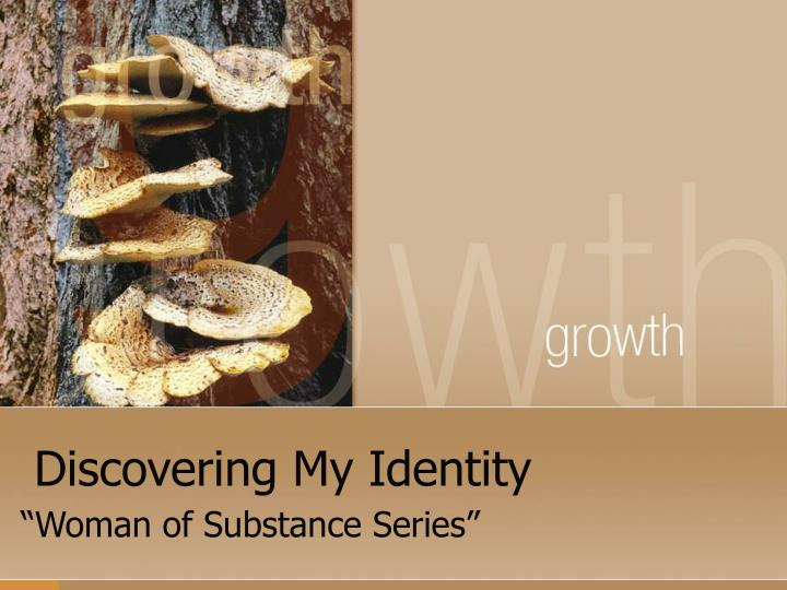 discovering my identity n.