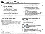 Narrative Text . . .