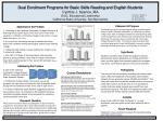 Statement of Purpose The following project is a meta-analysis aimed at examining the