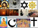 What symbols did you notice that were Christian symbols?
