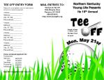 TEE OFF ENTRY FORM